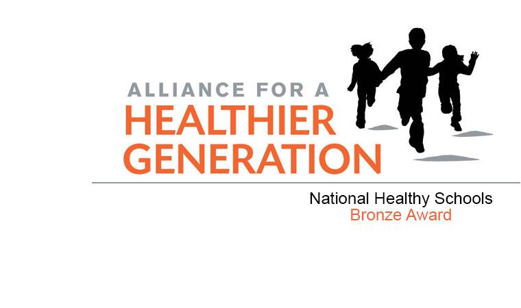 healthiest-school-bronze-award-banner